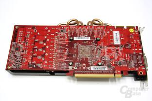 Radeon HD 5850 PCS+ Rückseite