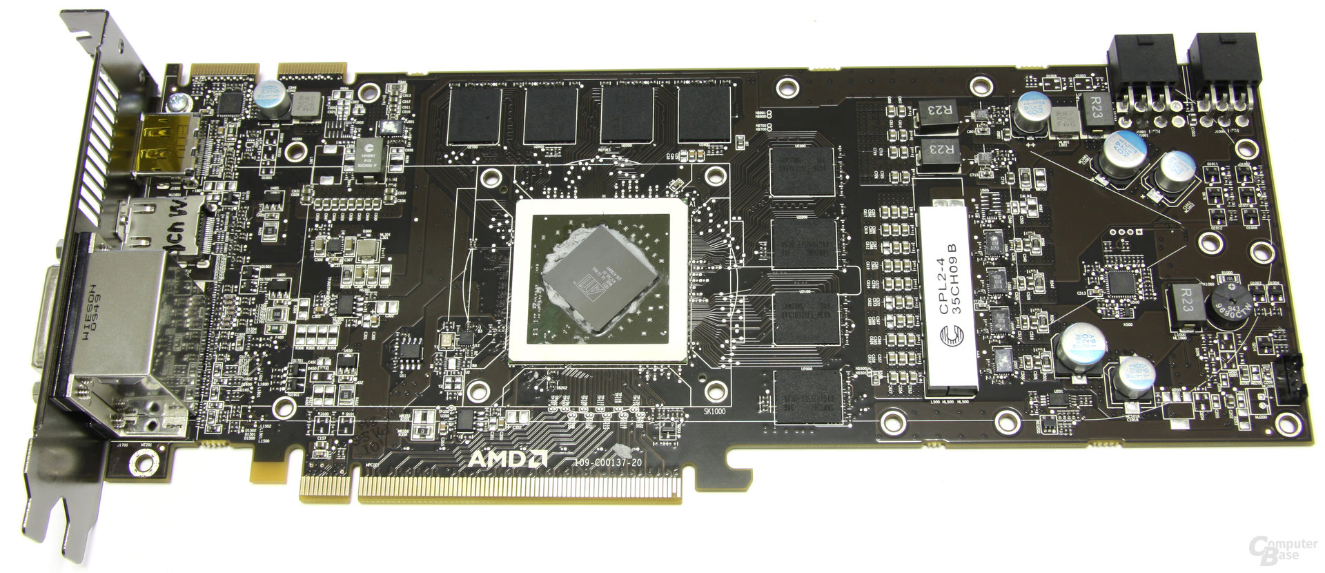 Radeon HD 5830 ohne Kühler