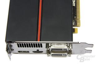 Radeon HD 5830 Anschlüsse