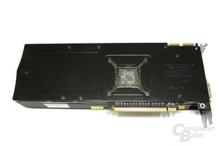 Radeon HD 5830 Rückseite