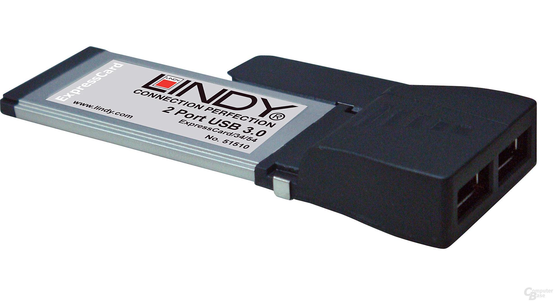 Lindy ExpressCard USB 3.0