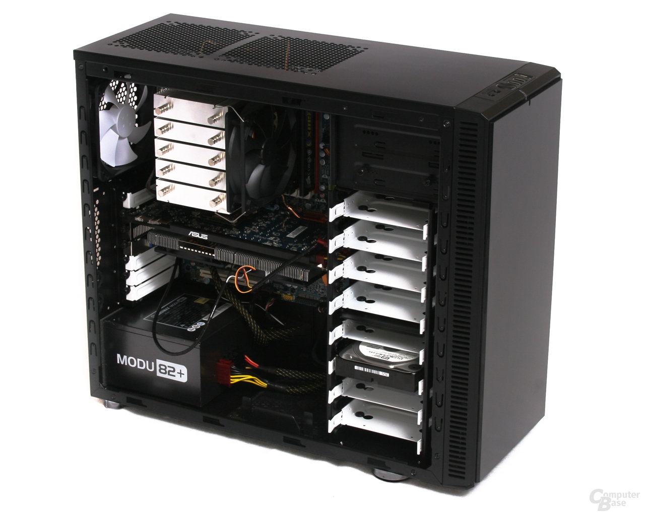 Fractal Design Define R2 – Hardware hinten