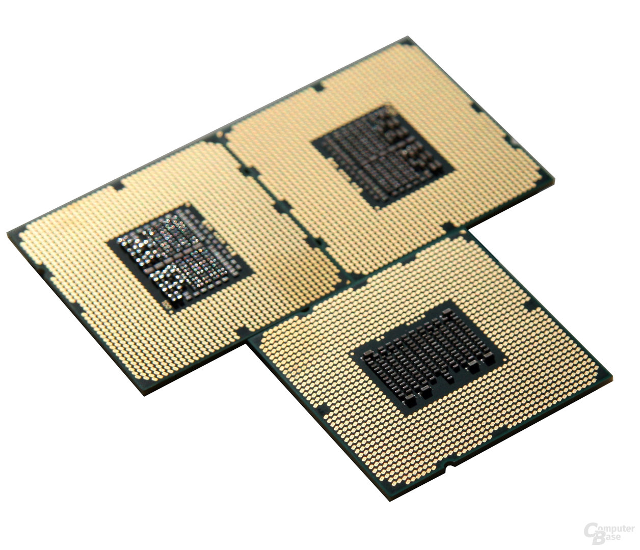 Drei LGA-1366-CPUs – Wert 2.400 Euro
