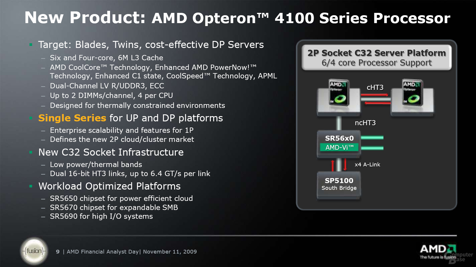 AMD Opteron 4100 Series