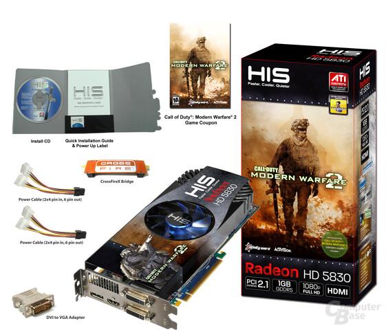 HIS Radeon HD 5830