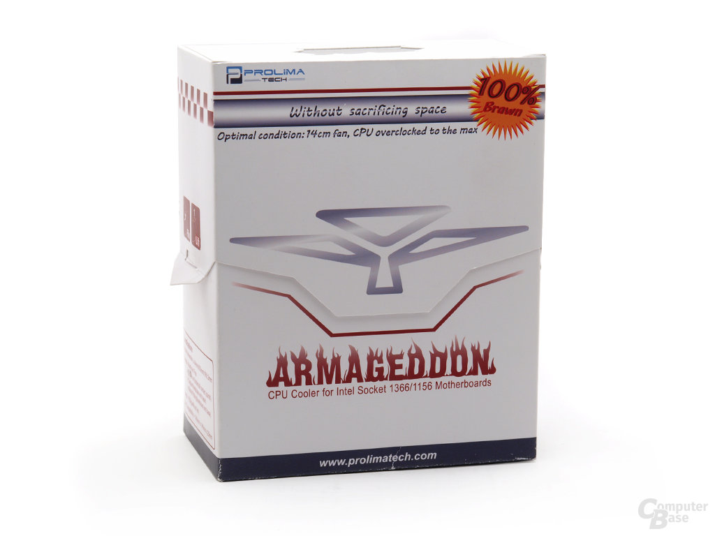 Prolimatech Armageddon Verpackung