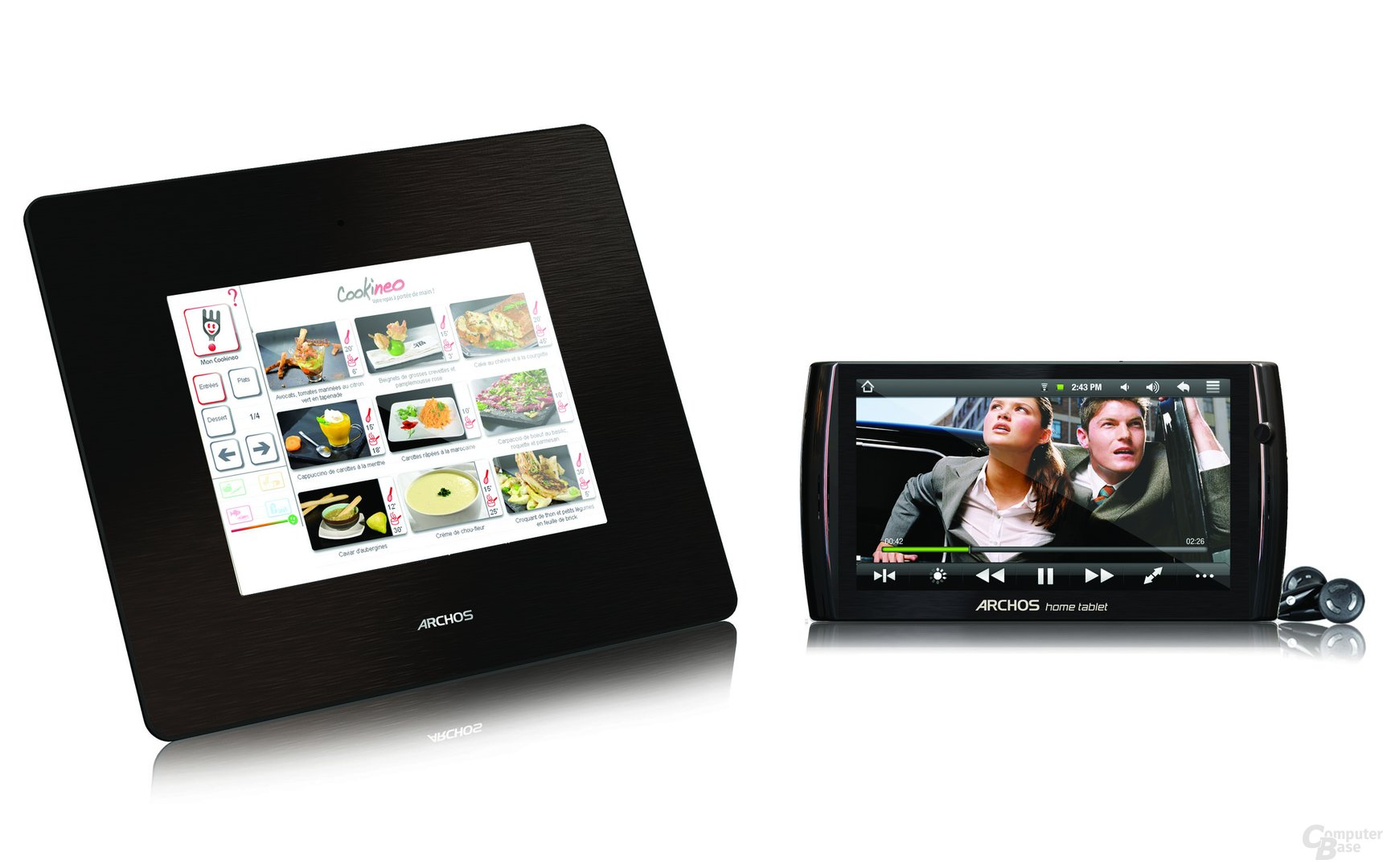 Archos 8 und Archos 7 Home Tablet