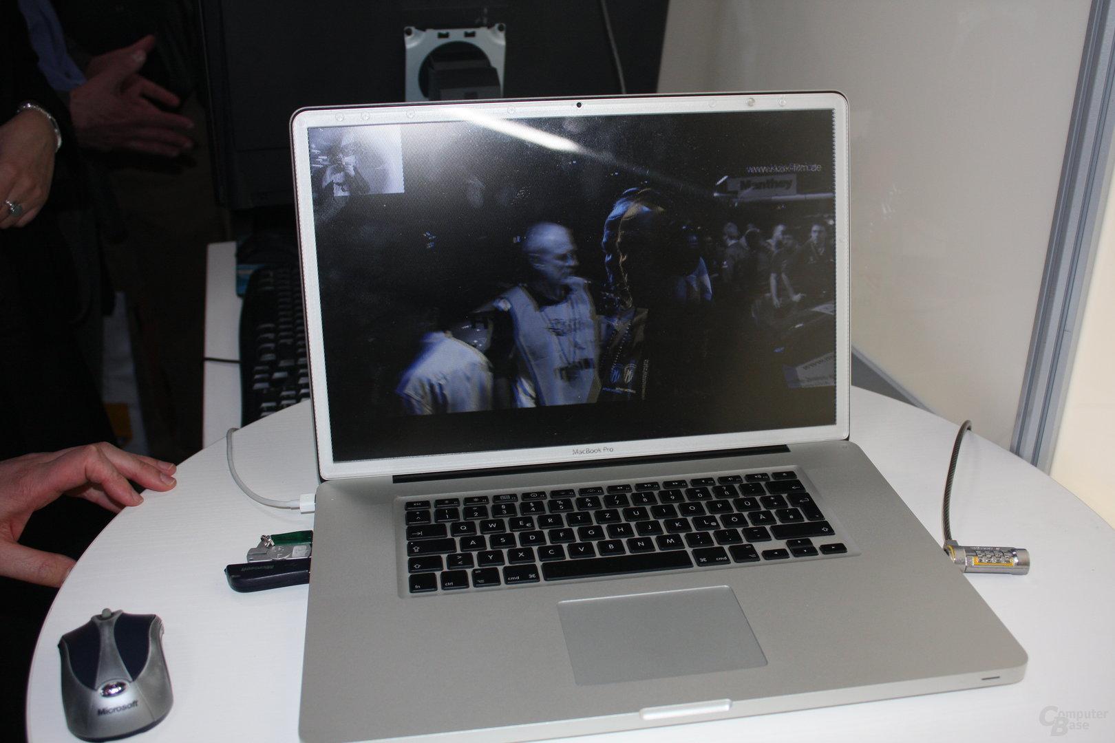 Headtracking auch auf dem Macbook