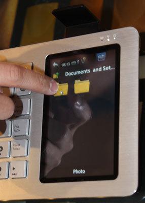 Asus Eee Keyboard - Touchscreen