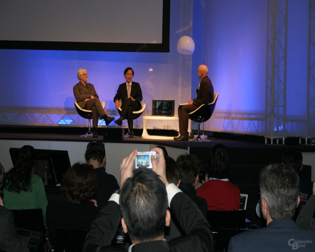 Asus Pressekonferenz – Präsentation