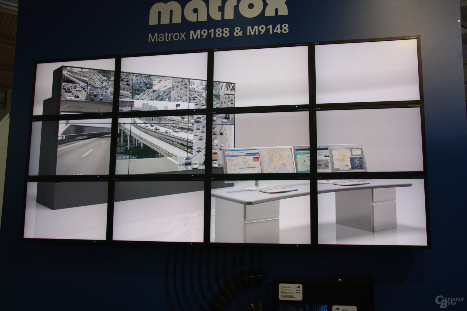 Matrox-Grafikkarten steuern 12 Monitore an