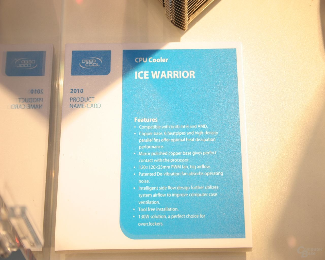 Deep Cool – Ice Warrior
