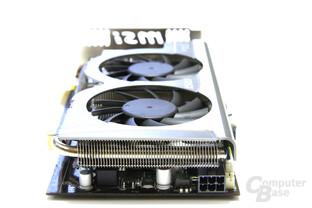 Radeon HD 5770 Hawk von hinten
