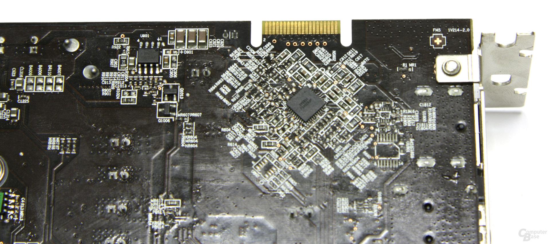 Radeon HD 5770 Hawk CF-Anschluss