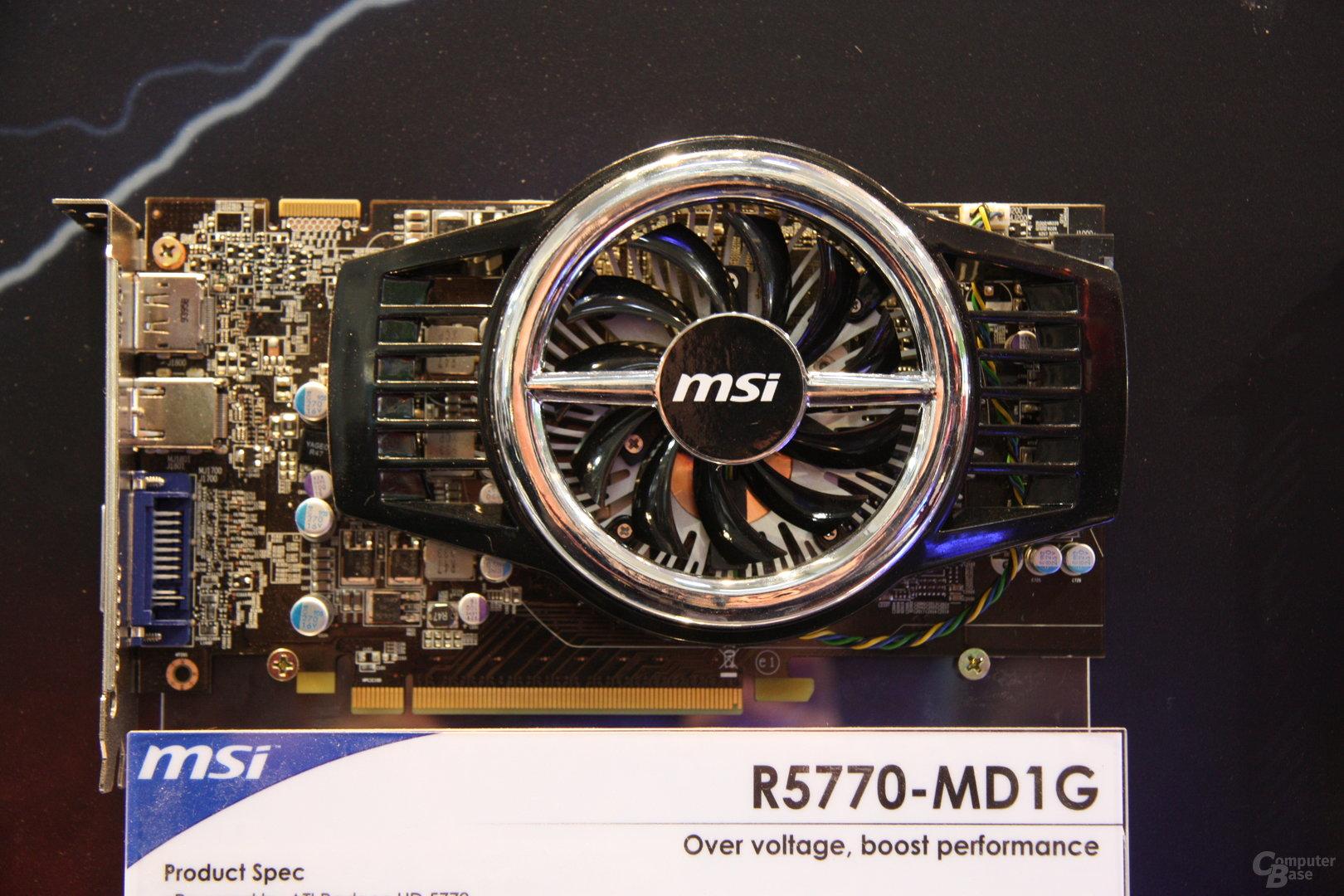 MSI-Produkte auf der CeBIT 2010