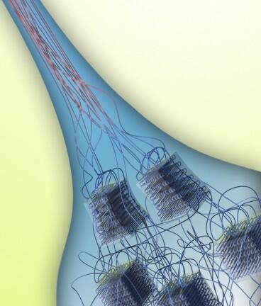 Ziehen eines PE-Strangs aus flüssiger Lösung