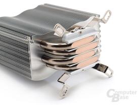 Montage der Haltebügel für Intel
