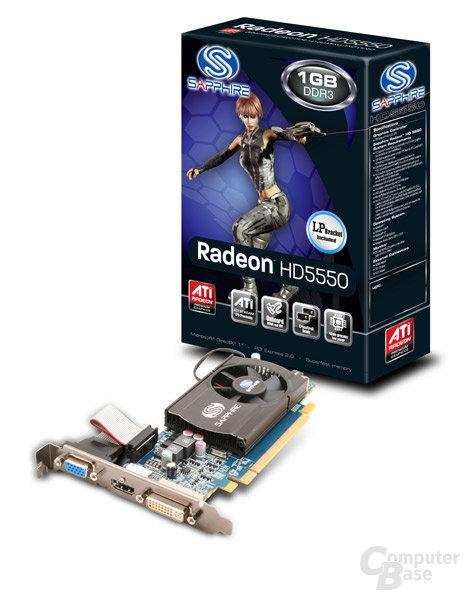 Sapphire Radeon HD 5550
