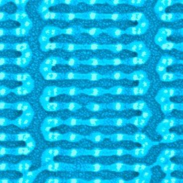 Selbstassemblierte Polymerstruktur auf einem Siliziumwafer