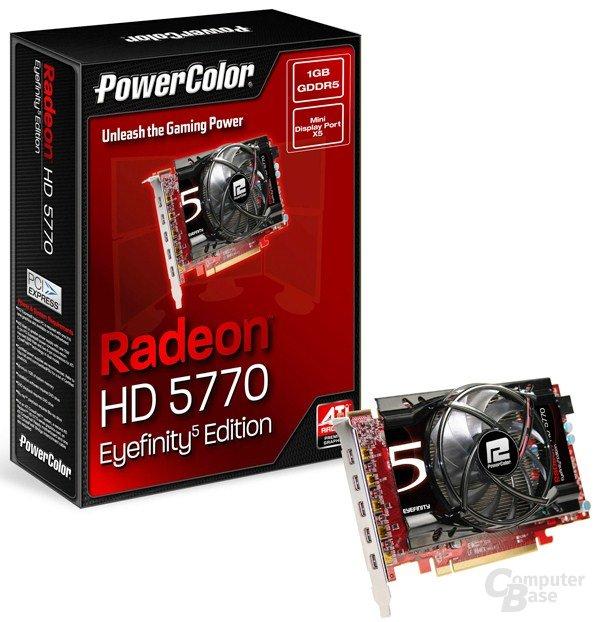 PowerColor Radeon HD 5770 Eyefinity5