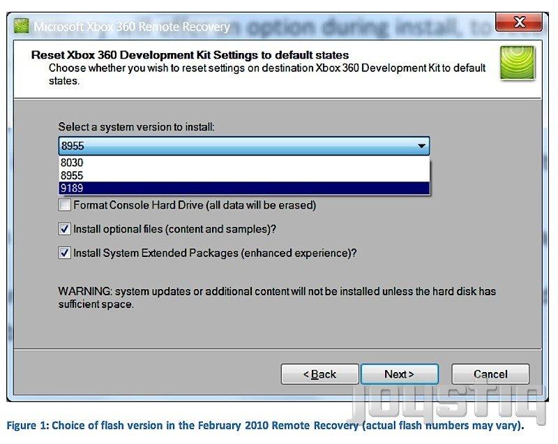 Xbox 360 Firmware-Update