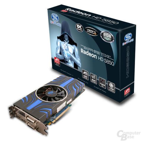 Sapphire Radeon HD 5850 Txic 2 GByte