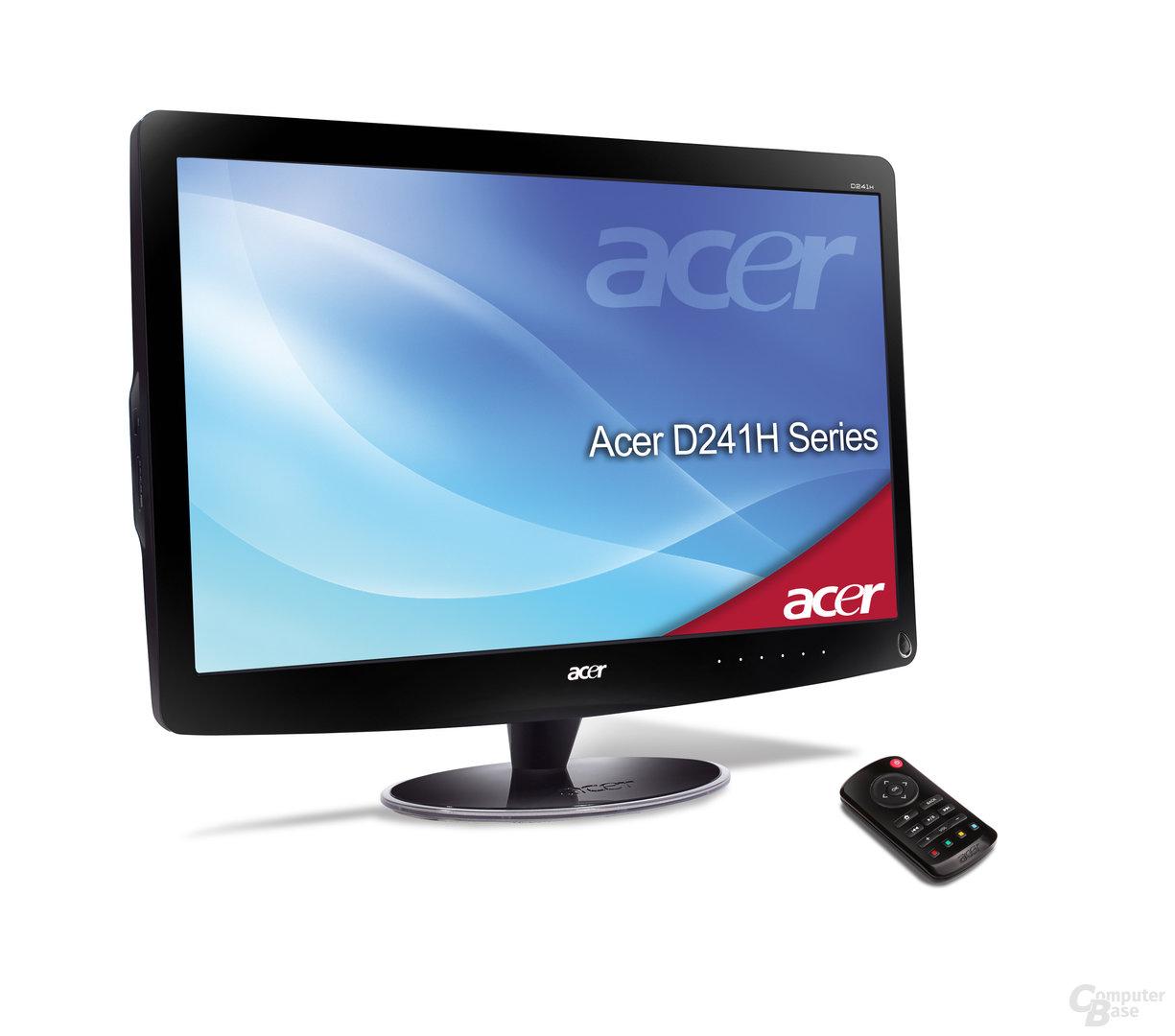 Acer D241H mit Fernbedienung