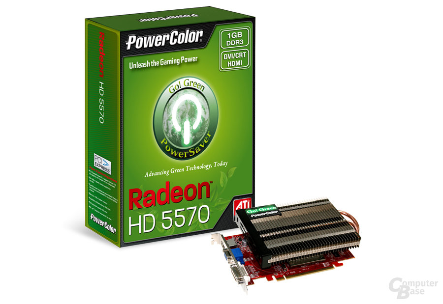 PowerColor Go! Green HD 5570