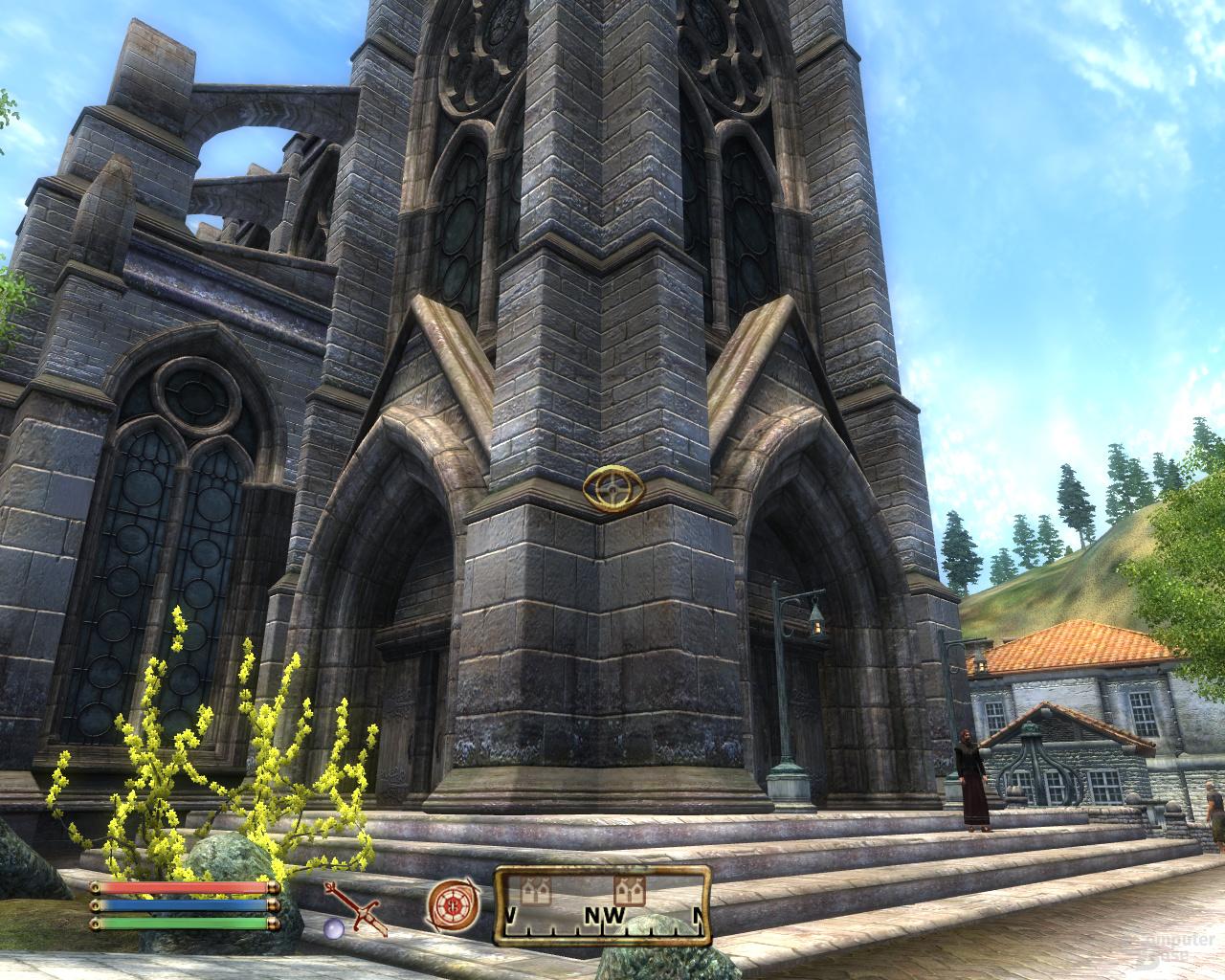 Nvidia GF100 Oblivion - 4xTMSAA