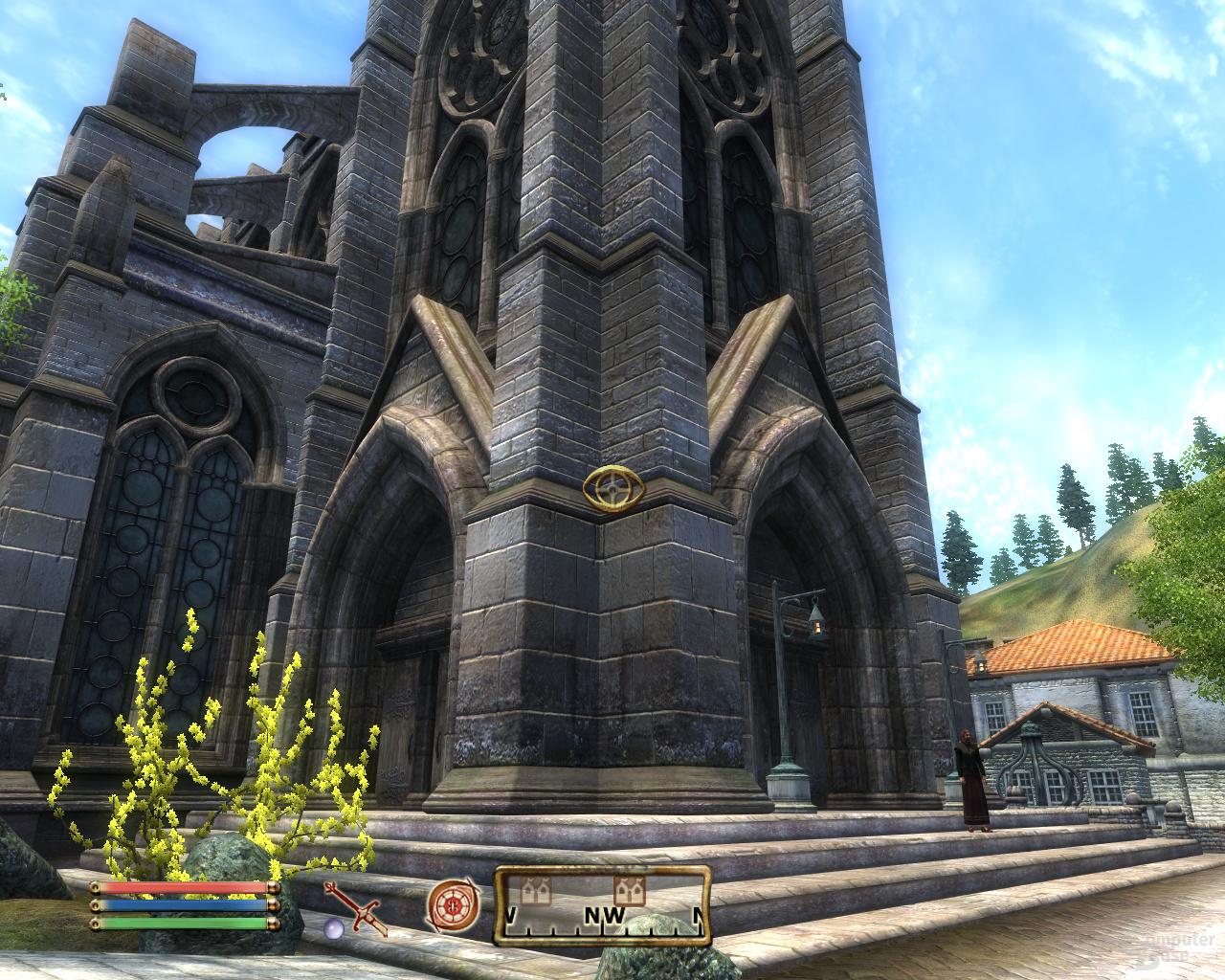 Nvidia GF100 Oblivion - 8xQAA