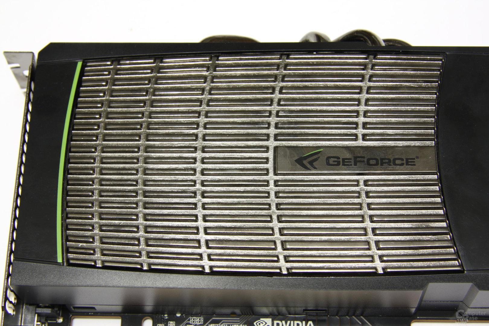 GeForce GTX 480 Metallkörper