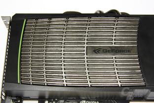 GeForce GTX 480 Metallkörper