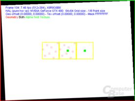 Nvidia GF100 FSAA-Viewer -  8xQAA