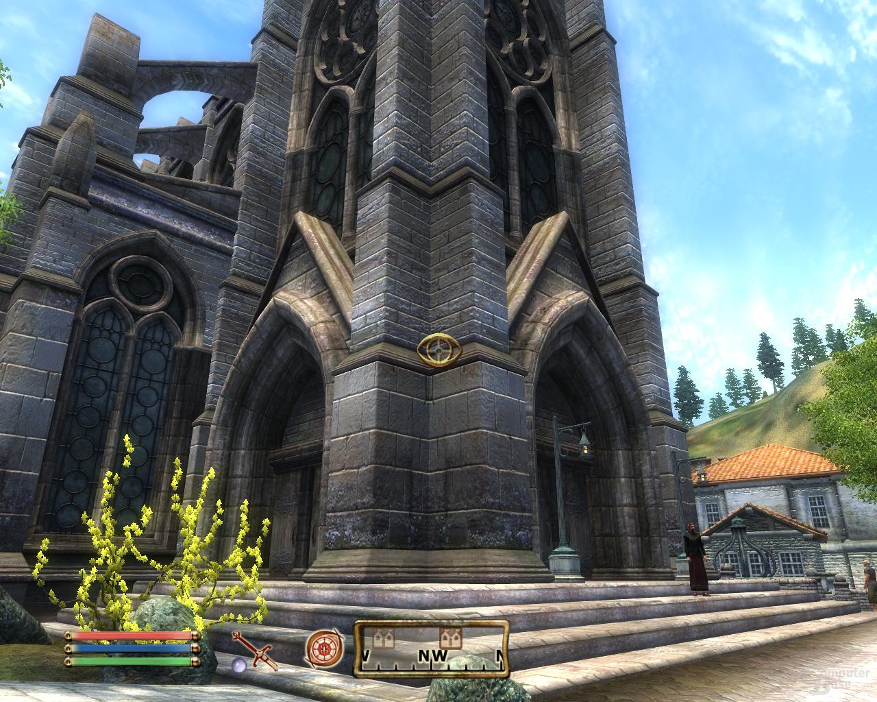 Nvidia GF100 Oblivion - 16xQAA
