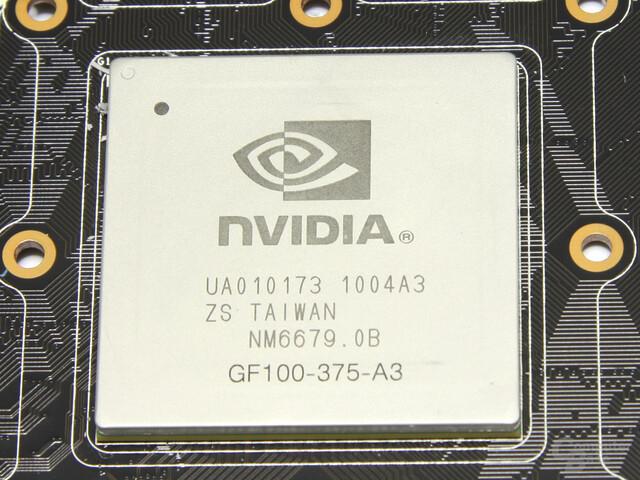 Fermi-Chip für GeForce GTX 480