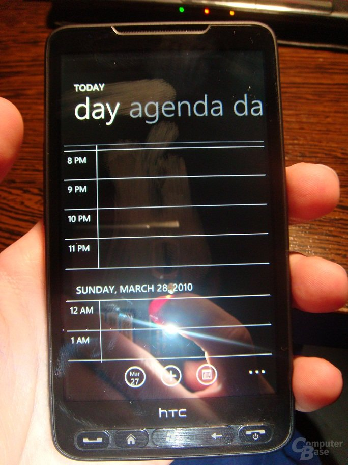 HTC HD2 mit Windows Phone 7 Series