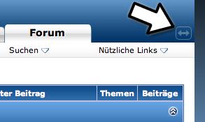 Schalter zum Skalieren des Forums