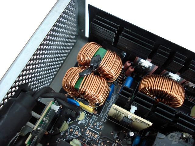 Cougar GX G600 – Netzfilterung
