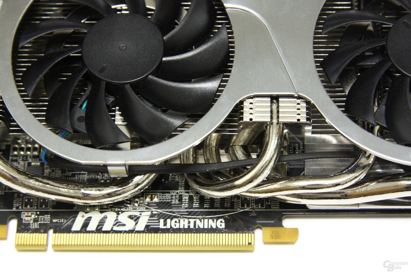 Radeon HD 5870 Lightning Schriftzug