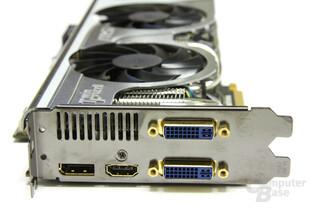 Radeon HD 5870 Lightning Slotblech