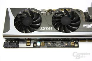 Radeon HD 5870 Lightning verlängertes PCB