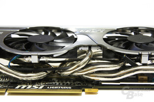 Radeon HD 5870 Lightning Heatpipes