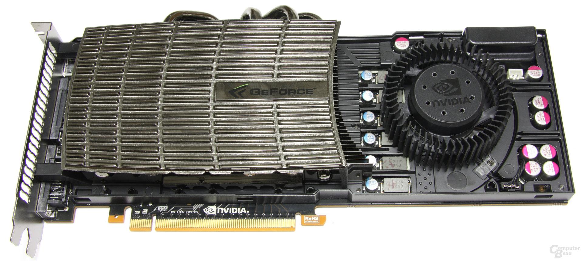 GeForce GTX 480 ohne Kühler