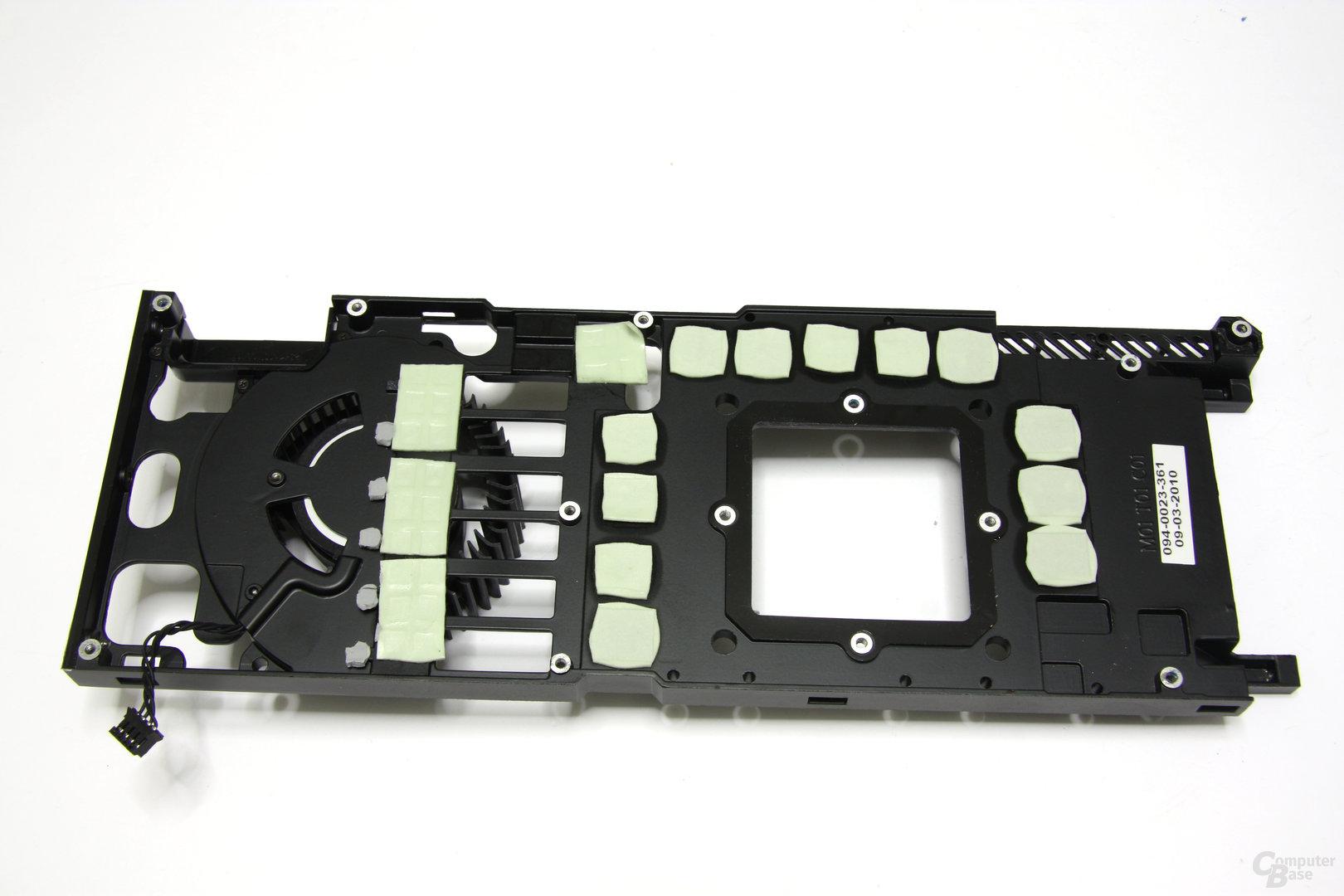 GeForce GTX 480 Plastikmantel