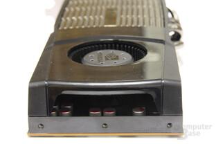 GeForce GTX 480 von hinten
