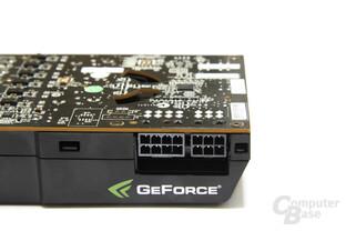 GeForce GTX 480 Stromanschlüsse