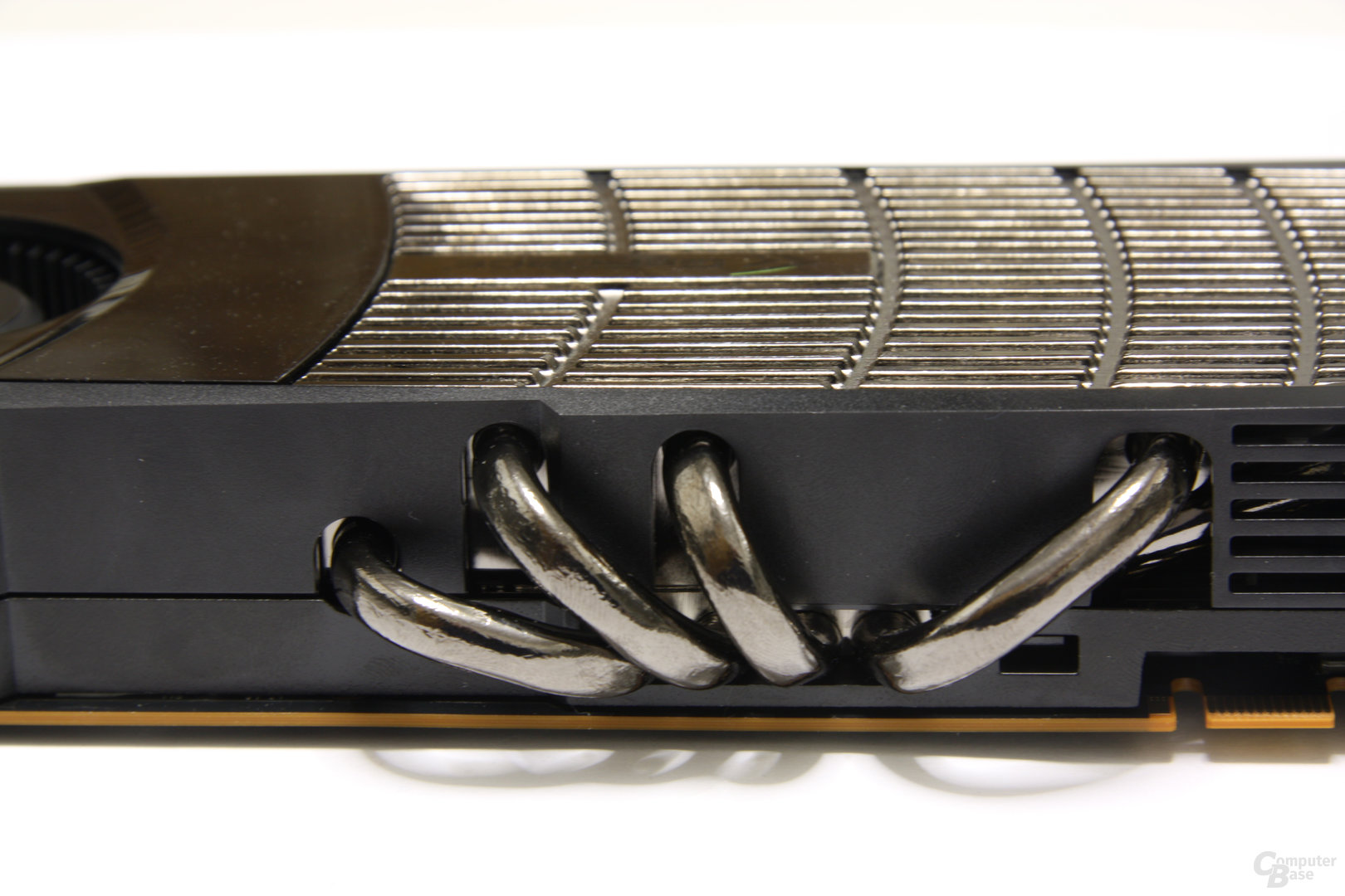 GeForce GTX 480 Heatpipes