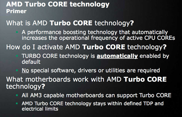 AMD Turbo CORE