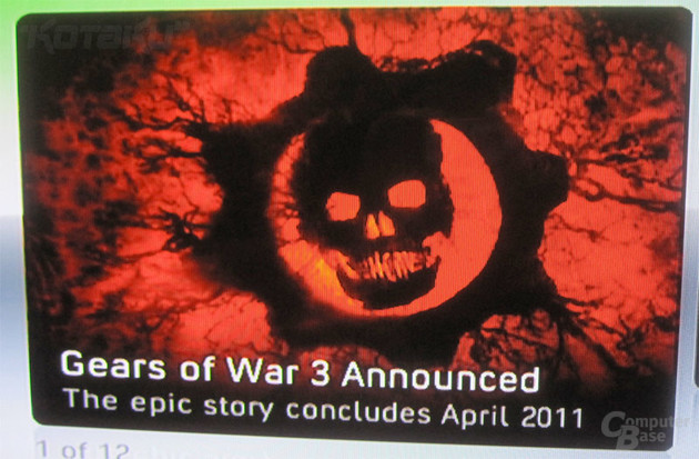Gears of War 3 – Werbeanzeige