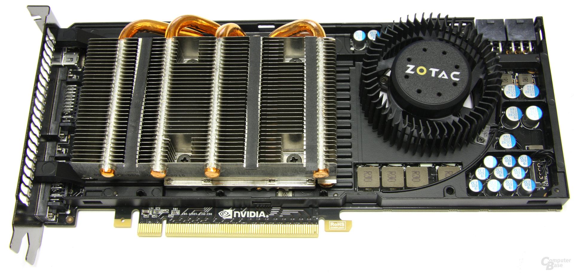 GeForce GTX 470 ohne Haube